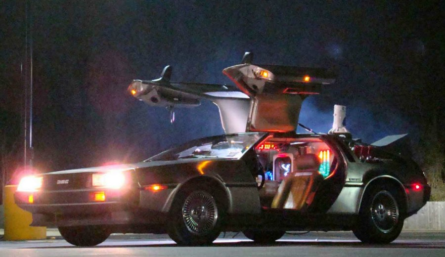 10.26.16 - DeLorean Time Machine