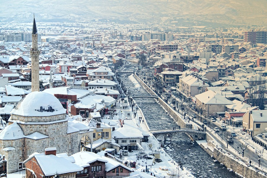 Prizren in Winter