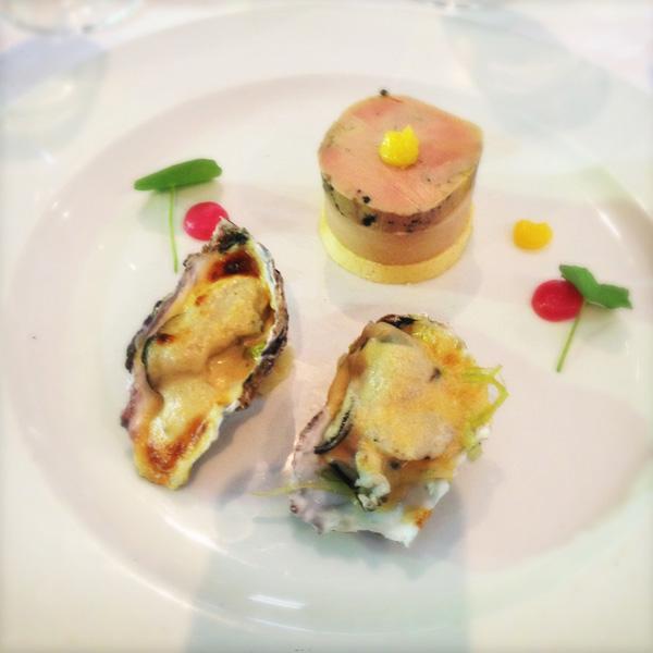 Franck Dangereux oysters