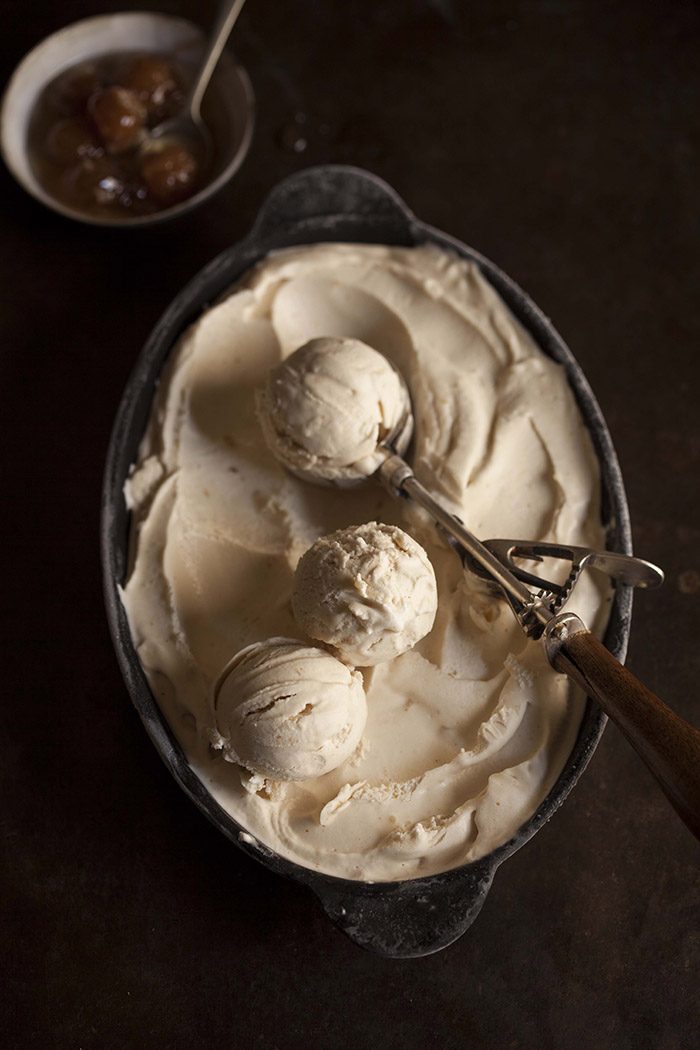 ginger miso ice cream