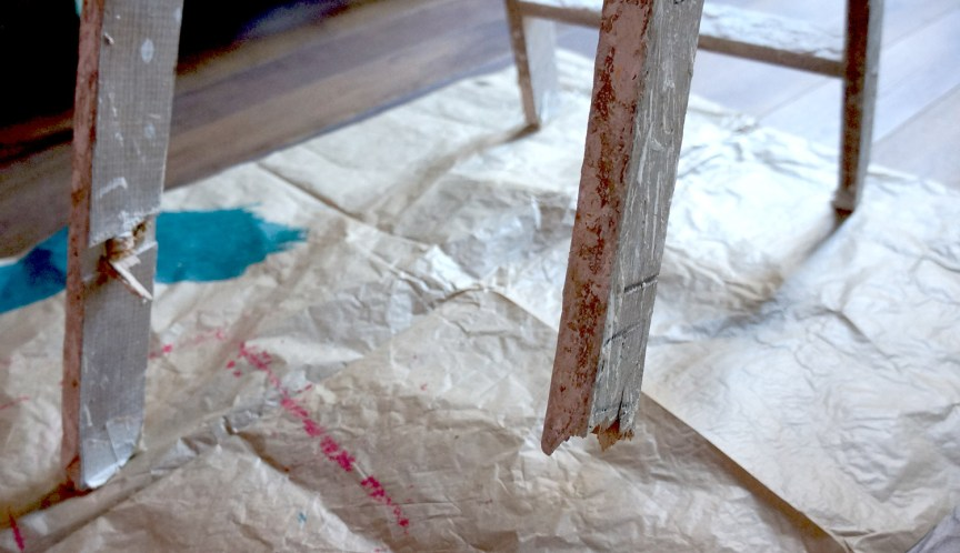 Before & after. Ladder plant stand · Antes y después. Escalera para plantas | Dr. Livinghome. A modern DIY blog