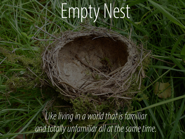 Empty Nesting Season Letting Go A Little At A Time Dr
