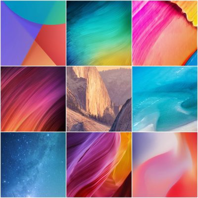 Download MIUI 9.5 Stock Wallpapers in High Quality - ZIP File Included