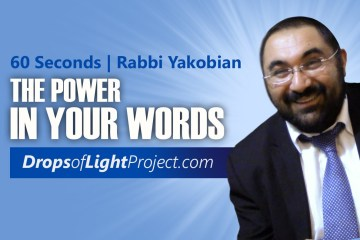 The POWER of Your Words (60 Sec)