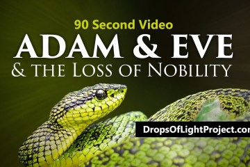 Adam, Eve and the Loss of Nobility (90 Sec)