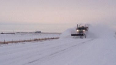 Highway 567 plow
