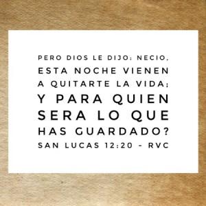Lucas 12.20