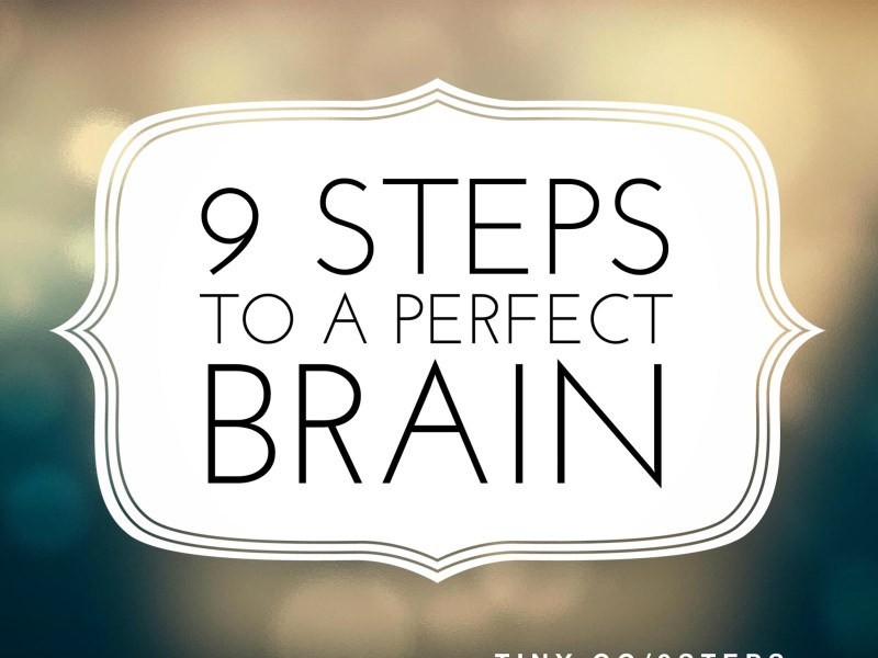 9 Steps to a Perfect Brain