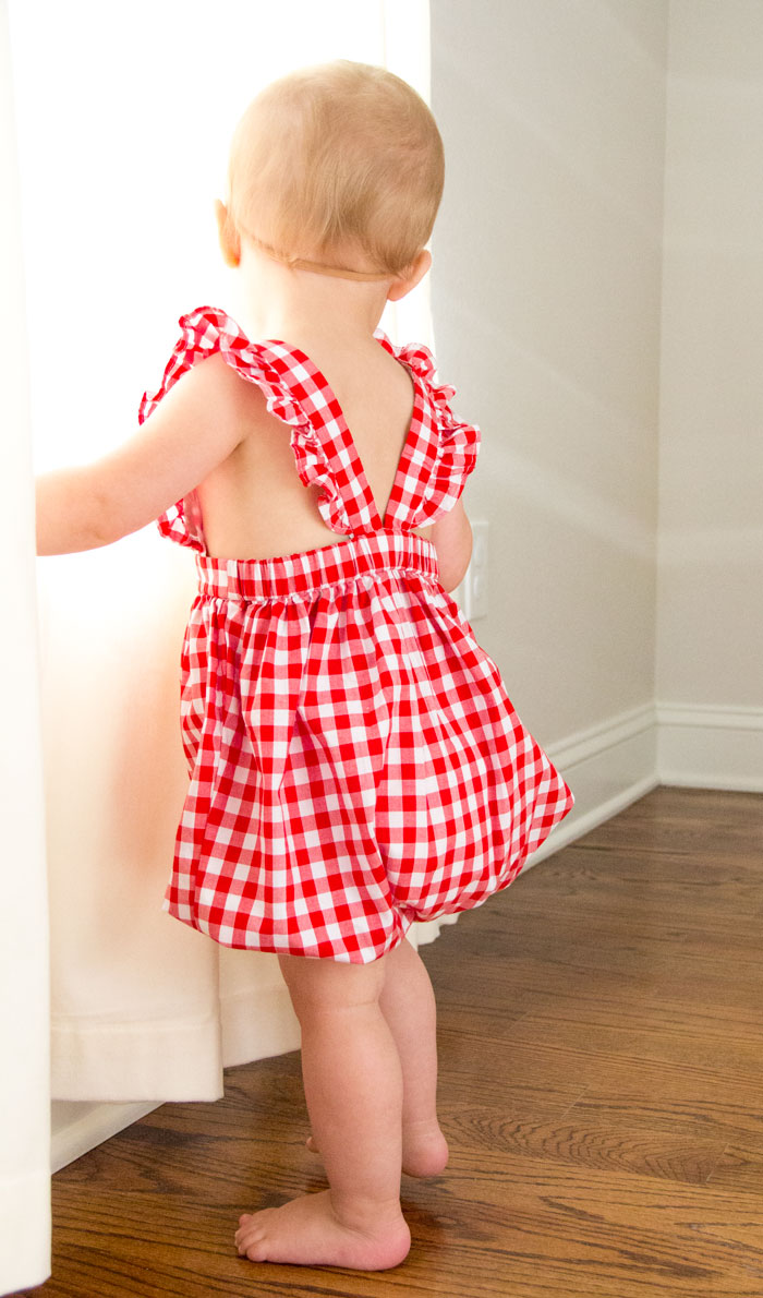 Red summer romper - Lubbock blogger - Amarillo blogger - mommy blogger