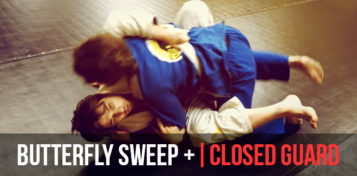 BUTTERFLY SWEEP | CLOSED GUARD