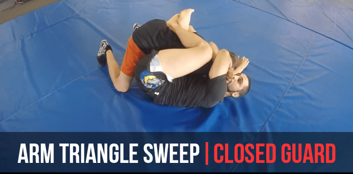 ARM TRIANGLE SWEEP | CLOSED GUARD