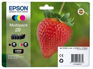 Epson C13T29864010 Tintenpatrone Erdbeere (Multipack) 4-farbig