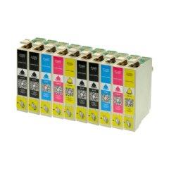 10 Druckerpatronen für Epson T1291 T1292 T1293 T1294