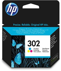 HP 302 Cyan/Magenta/Gelb Original Tintenpatrone