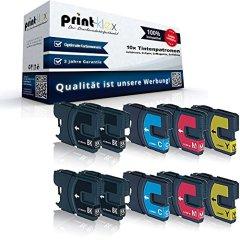 10x XL Tintenpatronen Sparset - 4x Black, 2x Cyan, 2x Magenta, 2x Yellow
