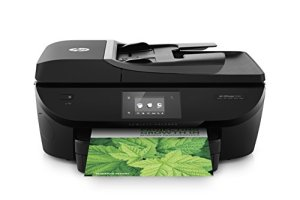 HP Officejet 5740 e-All-in-One Drucker (Scanner, Kopierer, Fax, Drucker, 4800 x 1200 dpi) schwarz