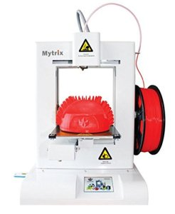 """Mytrix Dreamweaver M11S High Speed 450 mm/s 3D Printer with Full Color Touch Panel, 5.9"""" x 5.9"""" x 5.1"""" Build Area, White ...(US Version, importiert)"""