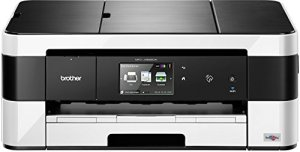 Brother MFC-J4625DW 4-in-1 Tinten-Multifunktionsgerät (Farbdrucker, Farbkopierer, Scanner, Fax, 6000x1200dpi, USB 2.0, WLAN) weiss-schwarz