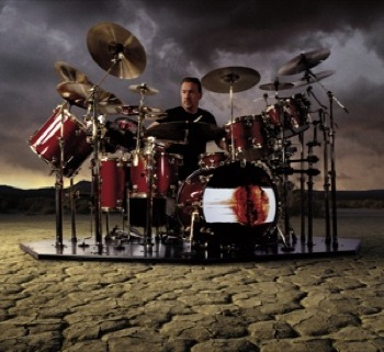 The Vapor Trails kit incorporated a full V-Drum setup.