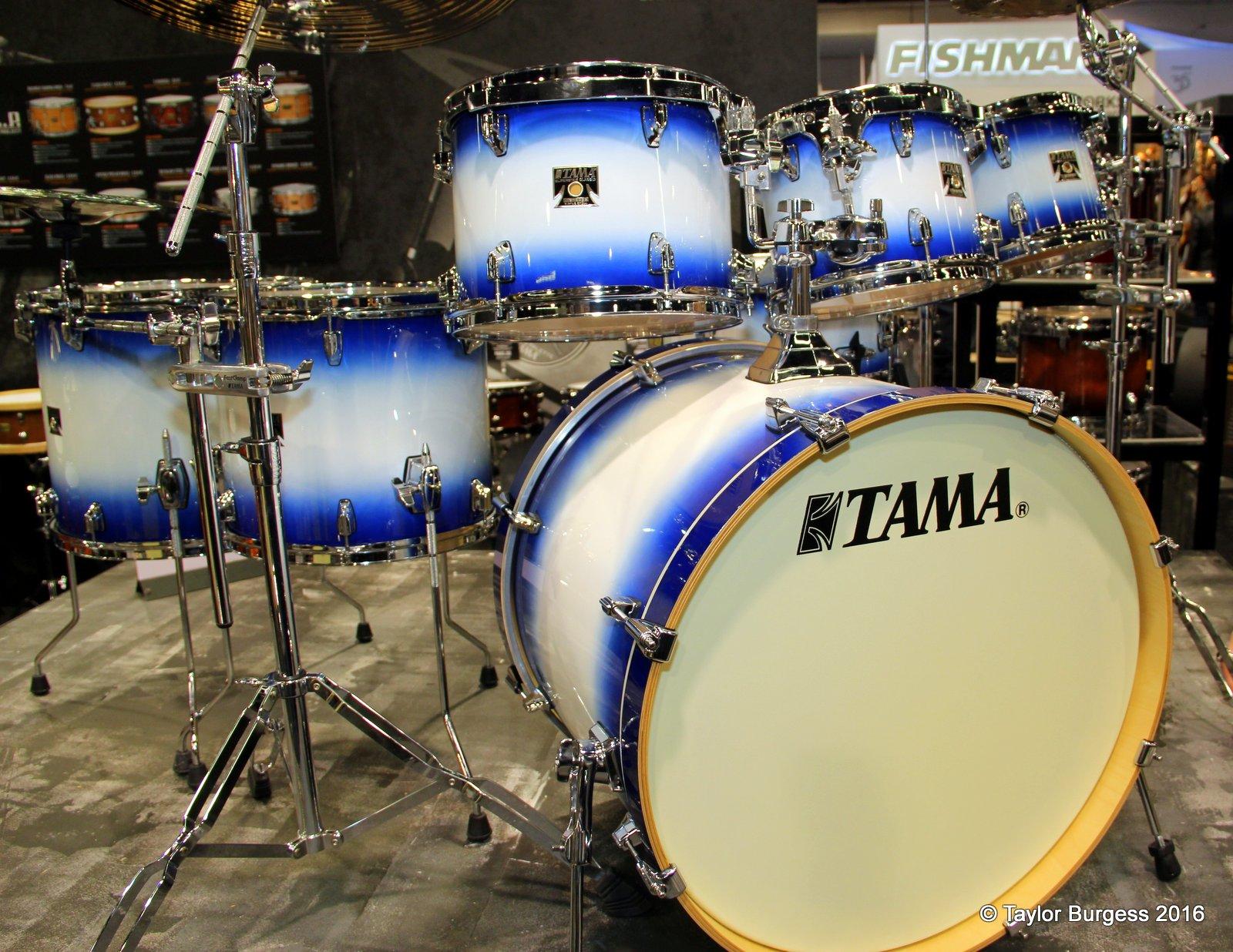 TAMA  Superstar Jet Blue Burst