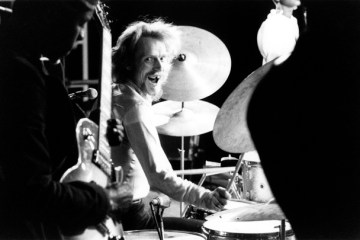 Ginger Baker 1972  Central Park, New York.  ©Jorgen Angel  www.angel.dk