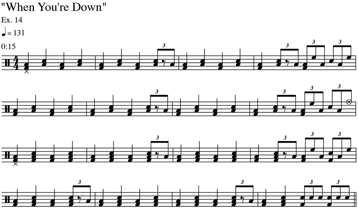Ex.-14-When-You're-Down-Intro