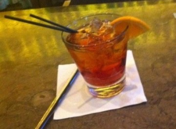 A Negroni from Nizza