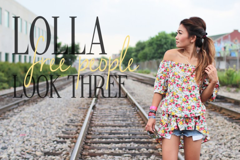 LOLLA FREE PEOPLE LOOK THREE