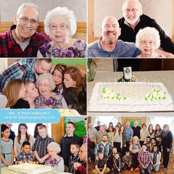 90th birthday party at Rolling Hills Golf Course, Pulaski, PA | Dr. Z Photography | Youngstown, OH