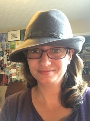 Me in a grey hat. Check out the turtle art just to the left of my head. :)
