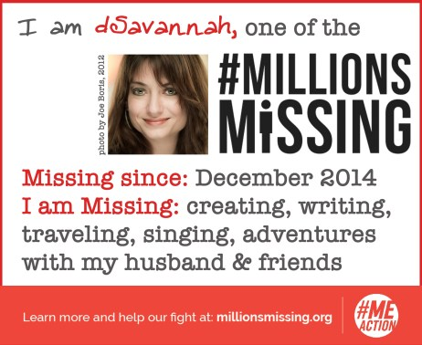 I am one of the Millions Missing