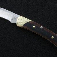 Buck 55 Folding Pocket Knife / Hand Engraved