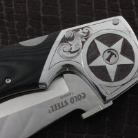 Hand Engraved Texas Espada XL