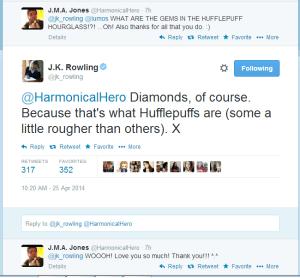 J.K Tweet - abril/14