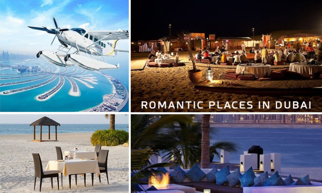 Romantic Places in Dubai – Things to do in Dubai with Couple