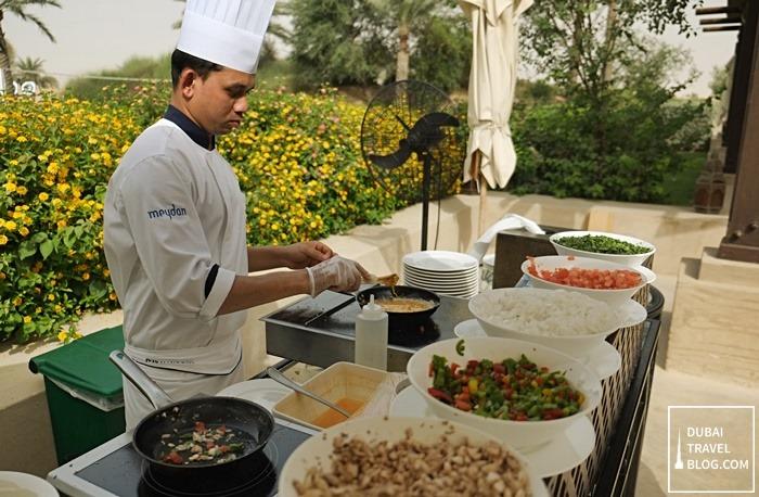 breakfast bab al shams