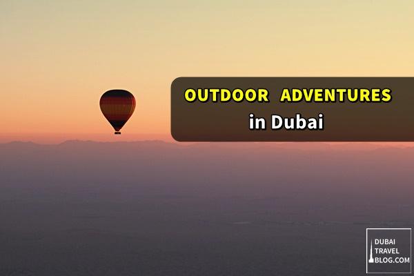 dubai outdoor adventures