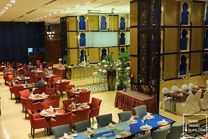 arabesque cafe dining dubai