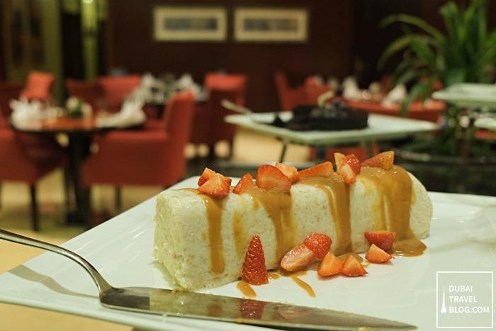 dessert arabesque cafe arjaan by rotana