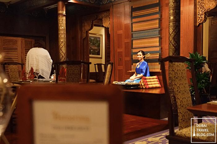 benjarong royal thai cuisine dubai