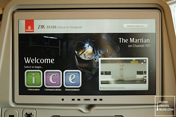 emirates ICE system dubai