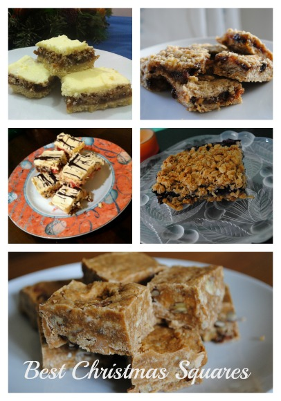 Best recipes for Christmas squares