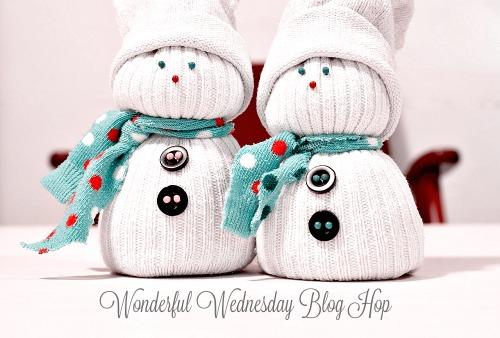 Wonderful Wednesday Blog Hop holiday edition 2018