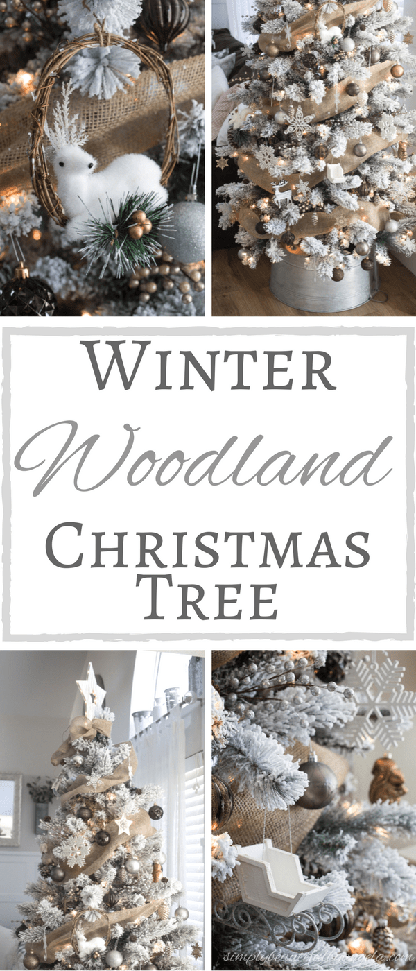 Winter Woodland Christmas Tree from Simply Beautiful by Angela