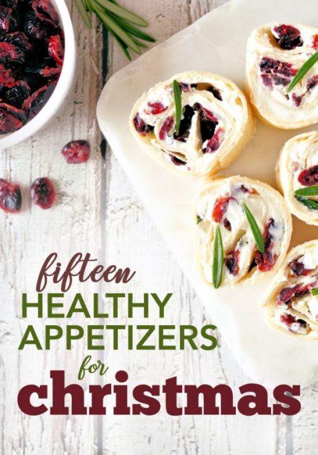 Healthy appetizers for Christmas