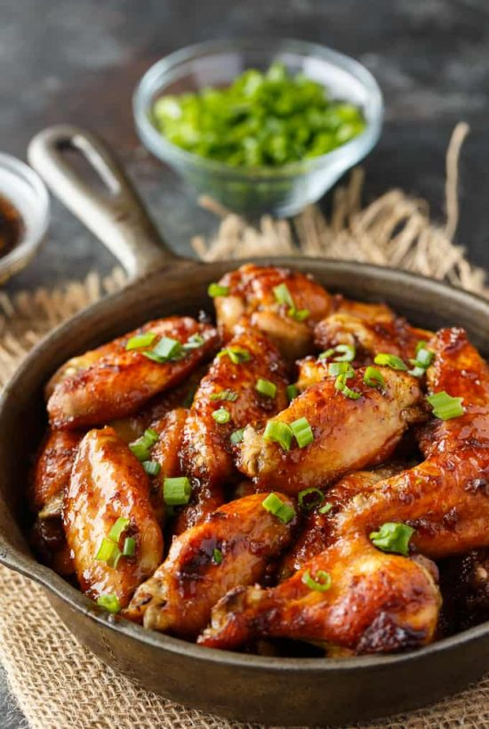 Oven baked chicken wings from Simply Stacie