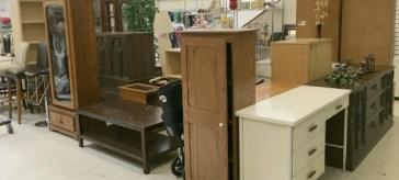 Thrift store furniture | DuctTapeAndDenim.com