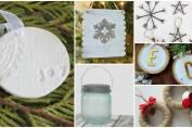 18 rustic DIY Christmas ornaments