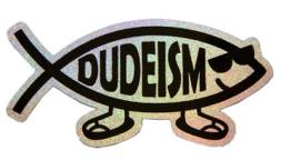 Dudefish Sticker