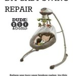 DIY BABY SWING REPAIR